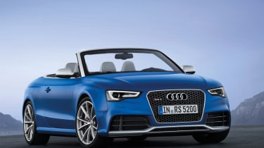 Audi RS5 Cabrio unveiled