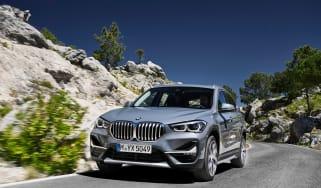 BMW X1 facelift 2019 - front quarter