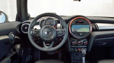 Mini Cooper S 2014 interior