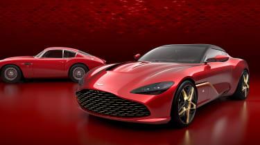 DBS GT Zagato front