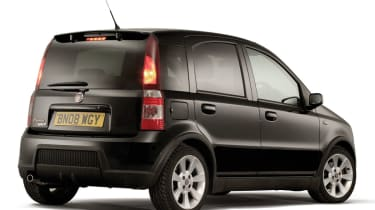 Fiat Panda 100HP rear quarter black
