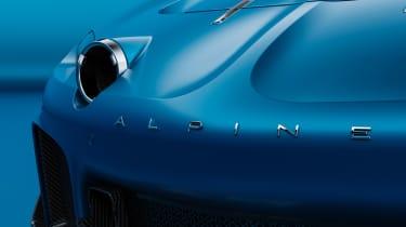 Alpine A110 GTA concept – bonnet