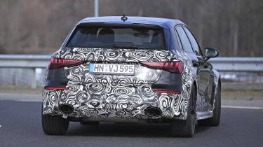 Audi RS3 mule 2021 - rear