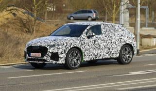 Audi RS Q3 Sportback spy - front