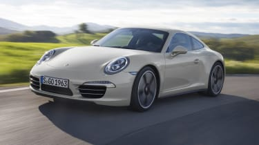 Porsche 911 50th Anniversary Edition front