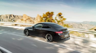 Mercedes-AMG C43 Coupe - rear quarter