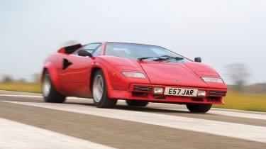 Lamborghini Countach QV road trip videos