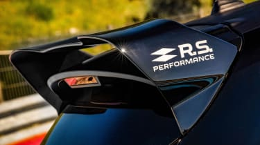 Renault Sport Performance parts wing