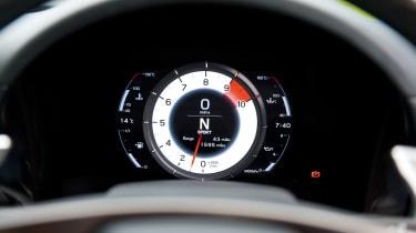Lexus LFA dash