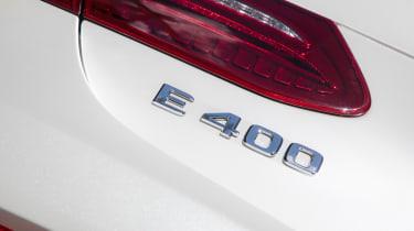 Mercedes-Benz E400 4Matic Cabriolet - Badge