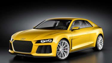 Audi Sport Quattro concept yellow