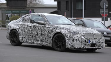 2022 BMW M2 spied road side 2