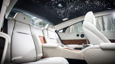 Rolls Royce Wraith star studded roof