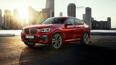 BMW X4 M40d - front quarter static