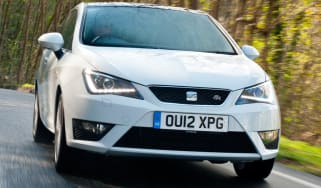 White SEAT Ibiza FR 1.4 TSI DSG