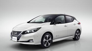 Nissan Leaf mk2 - front quarter