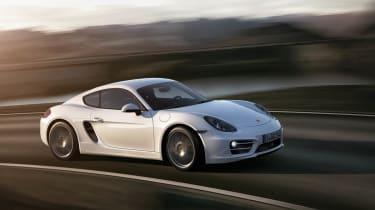 2013 Porsche Cayman side profile