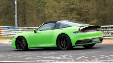 Porsche 911 Targa spy - side