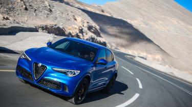Alfa Romeo Stelvio QV drive - tracking