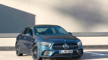 Mercedes-AMG A35 saloon - front quarter