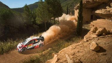 WRC Rally Catalunya - Toyota