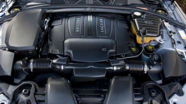 Jaguar XF V6 Diesel S engine