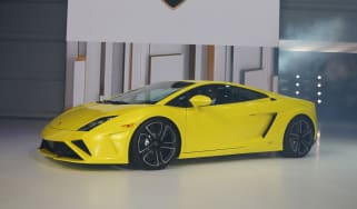 Lamborghini Gallardo facelift at the Paris show