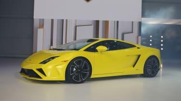 Lamborghini Gallardo facelift at the Paris show