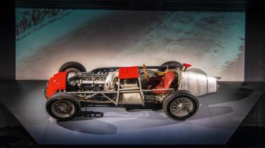 Alfa Romeo cutaway Tipo 159 'Alfetta' Grand Prix car from 1951