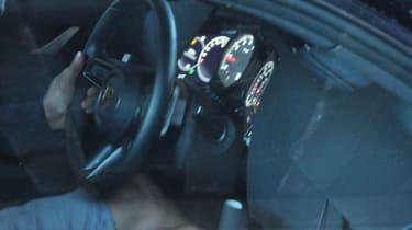 Porsche 911 spy - dash