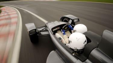 Caparo T1 cornering