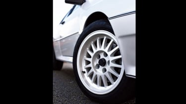 Audi Quattro - wheels