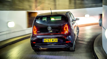 Volkswagen Up GTI rear tracking