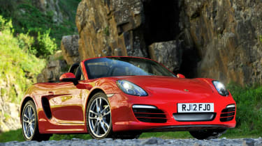 2012 Porsche Boxster 2.7 front static