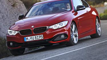 BMW 435i front