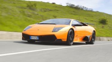 Lamborghini Murcielago LP670-4 SV front