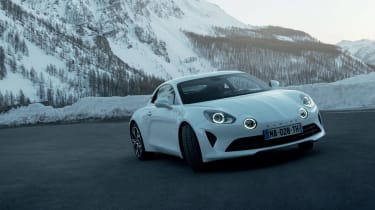 Alpine A110 Pure and Legende - fronts