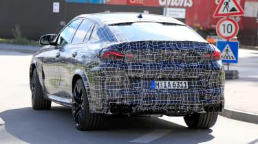 2019 BMW X6 M prototype - rear