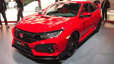 Honda Civic Type R  - Geneva front