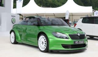 Skoda Fabia vRS 2000 speedster concept car