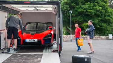 McLaren Senna trailer