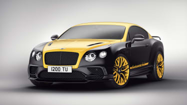 Bentley 'Continental 24' Supersport - front yellow 1
