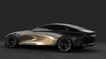 Mazda Vision Concept Coupe - rear quarter