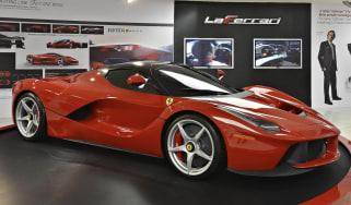 Fernando Alonso drives LaFerrari: video