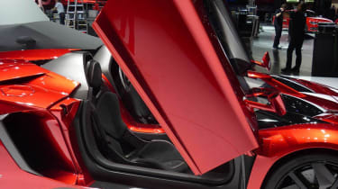 Lamborghini Aventador J door open