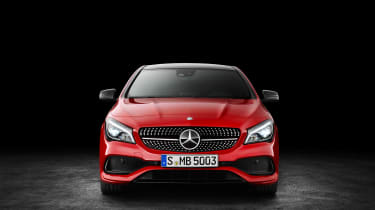 Mercedes-Benz CLA250 4MATIC - front