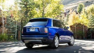 Rolls-Royce Cullinan rear static