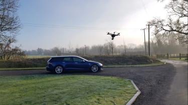 Tesla Model S Shooting Brake – side