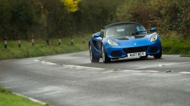 eCoty Lotus Elise Sport 220 - front driving