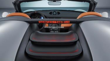 Porsche 911 Speedster - roof